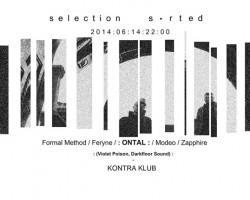 Selection Sorted @Kontra Klub with ONTAL (SRB) as guest  – Formal Method plays live